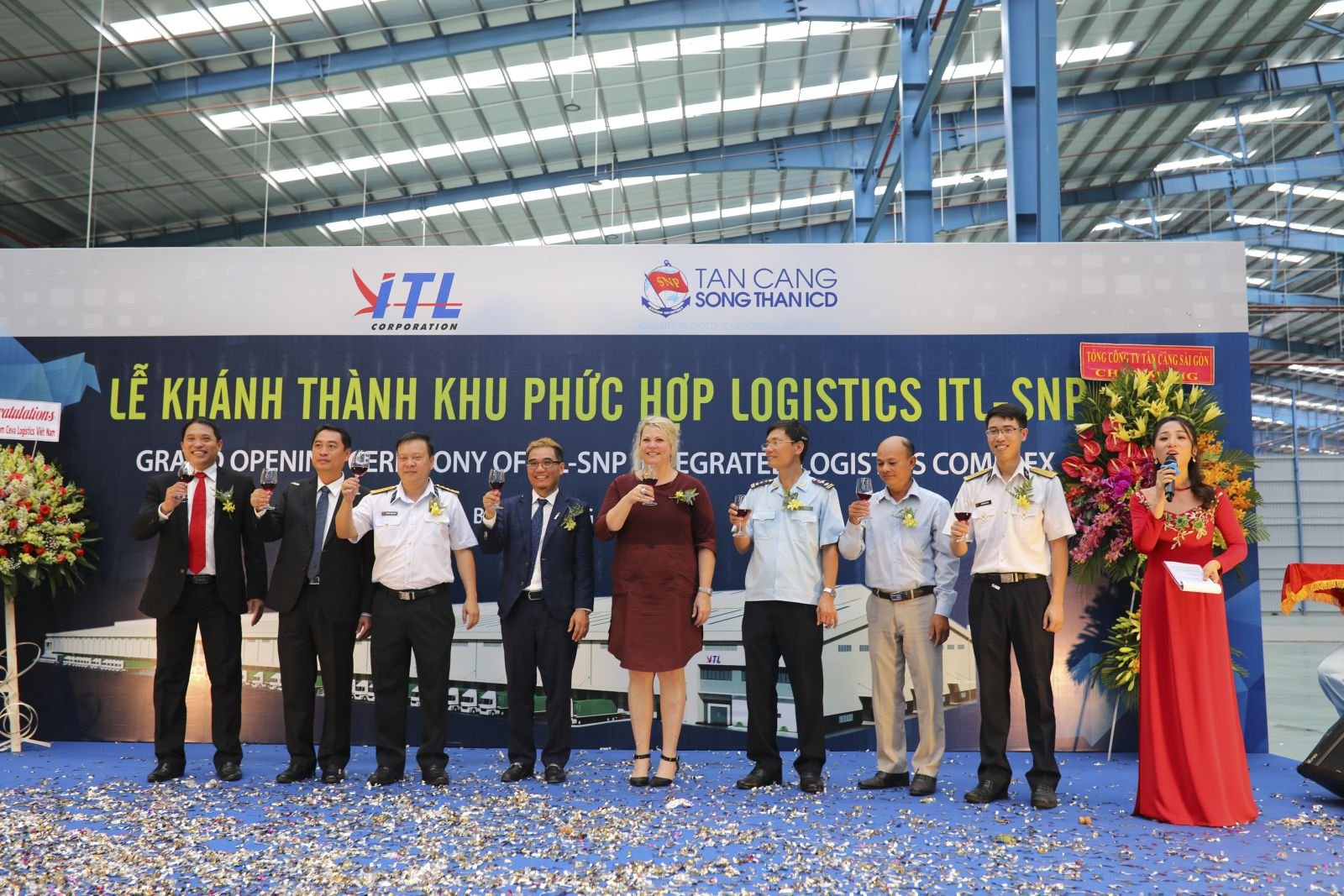 ITL Corporation - GRAND OPENING CEREMONY OF ITL-SNP